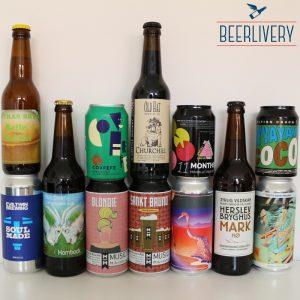 Ølsmagning 12 forskellige øl