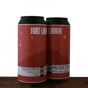 RØD LØBER - Pale Ale - MUSICON Mikrobryggeri