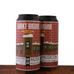 SANKT BRUNO - Brown Ale - MUSICON Mikrobryggeri