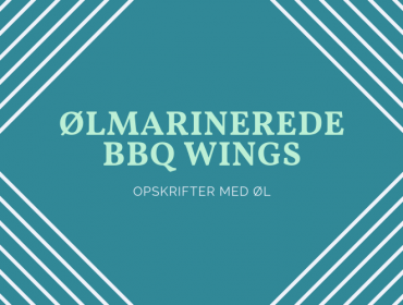 Ølmarinerede hotwings