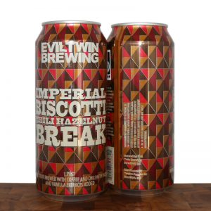 Imperial Biscotti Chili Hazelnut Break - Evil Twin Brewing